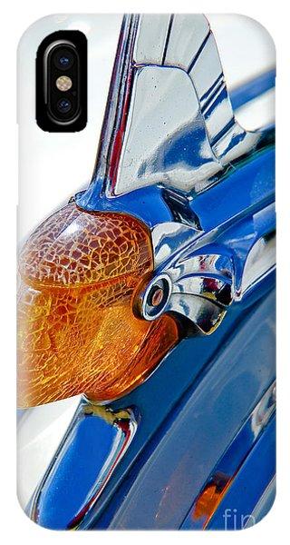 Pontiac Art Deco Hood Ornament IPhone Case