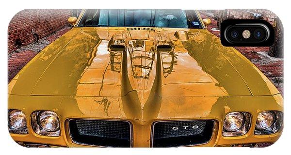 Pontiac Gto - The Judge IPhone Case