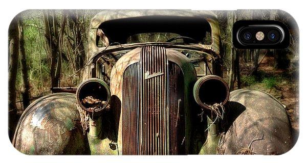 Pontiac In The Woods IPhone Case