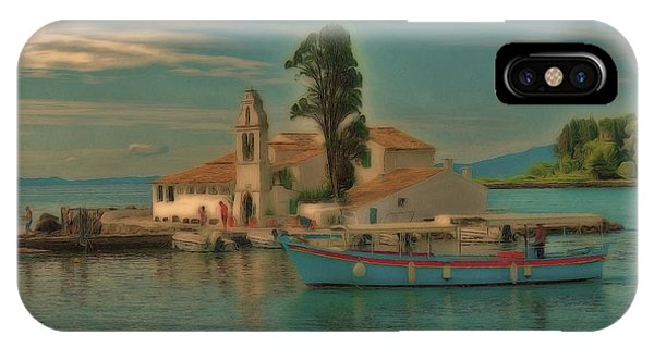 Pontikonisi Corfu IPhone Case