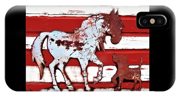 Pony And Pup IPhone Case