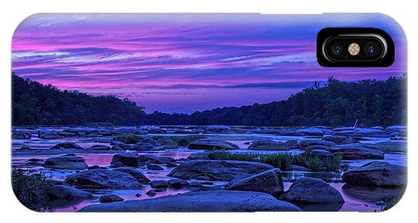 Pony Pasture Sunset IPhone Case