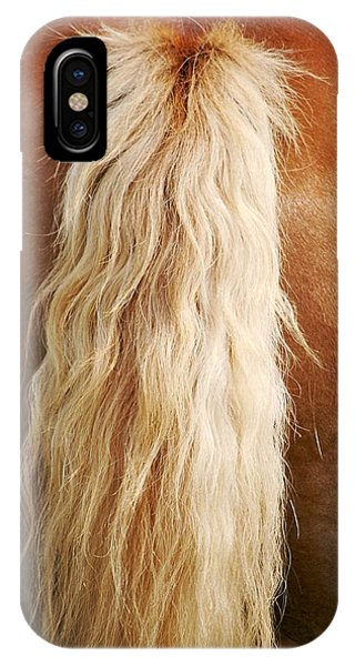 Pony Tail IPhone Case