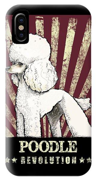 Poodle Revolution IPhone Case