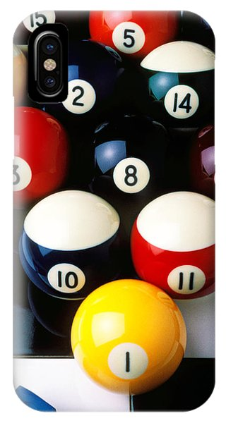 Pool Balls On Tiles IPhone Case
