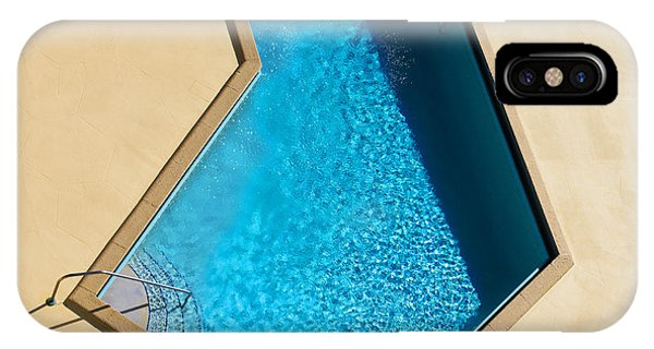 Houses iPhone Case - Pool Modern by Laura Fasulo