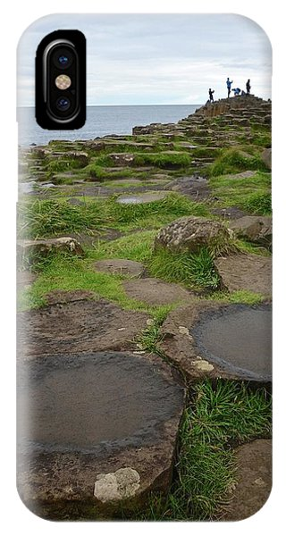 Pools On The Giant's Causeway IPhone Case