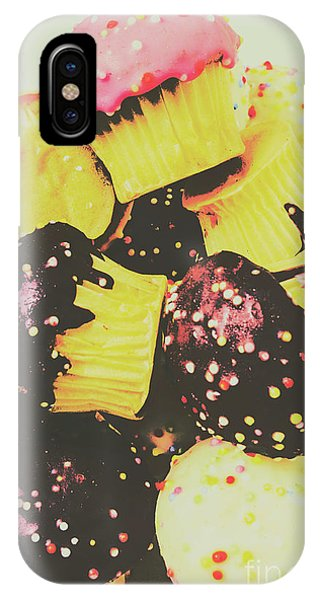Cake iPhone Case - Pop Art Bake by Jorgo Photography - Wall Art Gallery