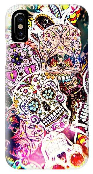 Punk Rock iPhone Case - Pop Art Horrors by Jorgo Photography - Wall Art Gallery