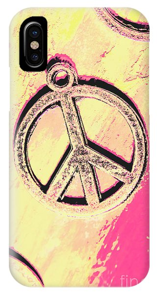 Funky iPhone Case - Pop Art In Peace by Jorgo Photography - Wall Art Gallery