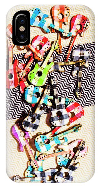 Rock And Roll Art iPhone Case - Pop Art Music by Jorgo Photography - Wall Art Gallery