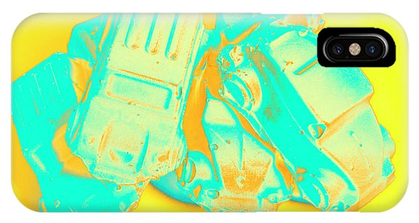 Crash iPhone X Case - Pop Art Pileup by Jorgo Photography - Wall Art Gallery