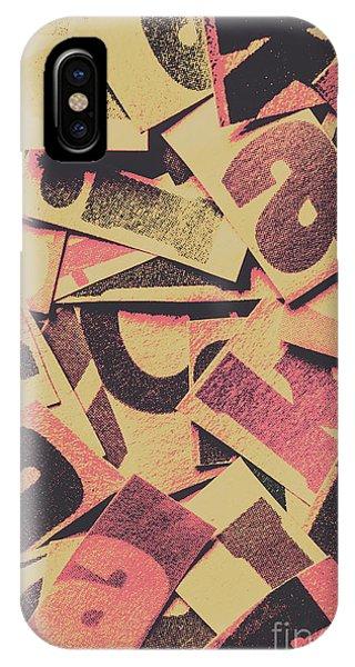 Cutout iPhone Case - Pop Art Press by Jorgo Photography - Wall Art Gallery