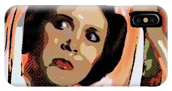 Pop Art Princess Leia Organa IPhone Case