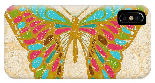 Pastel Colors iPhone Case - Pop Butterfly by Marilu Windvand