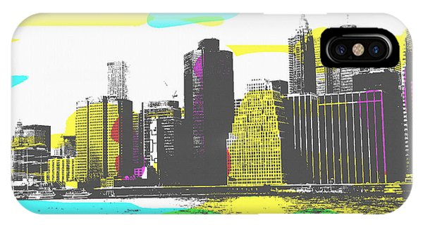 Pop City Skyline IPhone Case