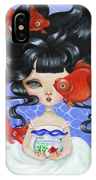 Pop-eyed Goldfish IPhone Case