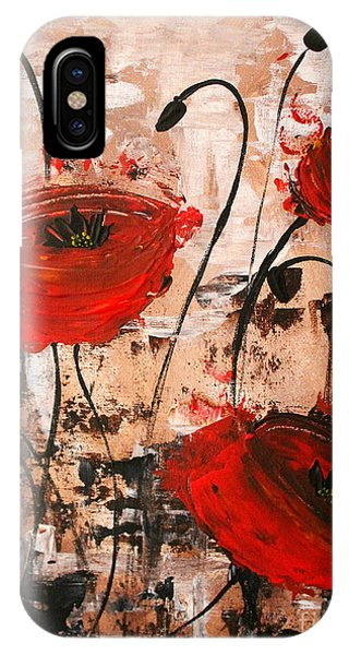 Pop Goes The Poppies IPhone Case