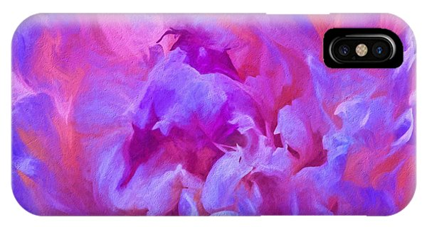 Pop Pink Peony IPhone Case