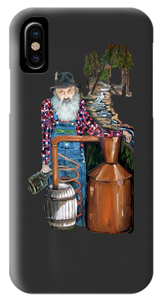 Popcorn Sutton Moonshiner -t-shirt Transparrent IPhone Case