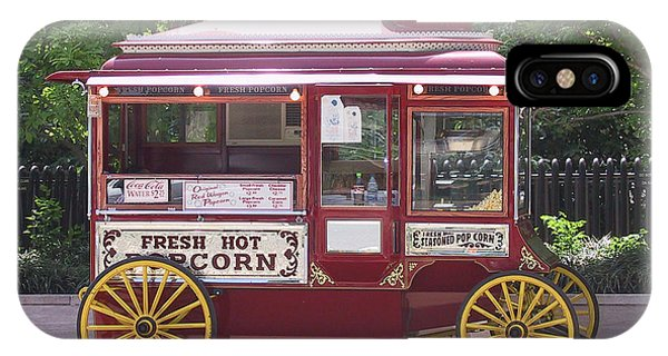 Popcorn Wagon IPhone Case