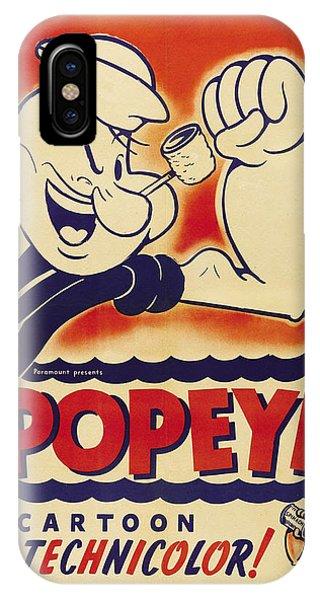 Popeye Technicolor IPhone Case