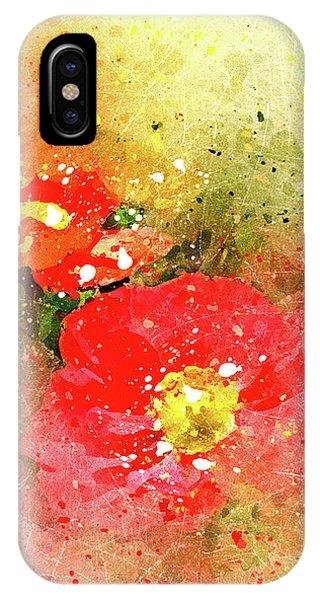 Poppies 5 S IPhone Case