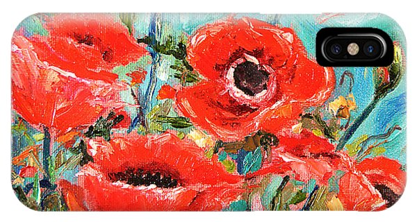 Poppies Delight IPhone Case