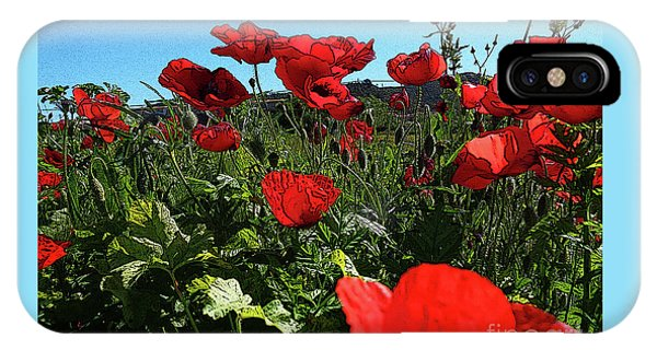 Poppies. IPhone Case