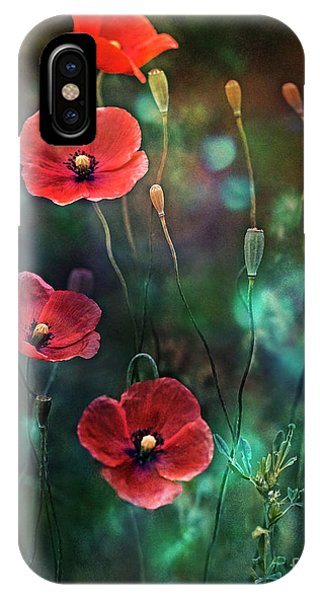 Poppies Fairytale IPhone Case