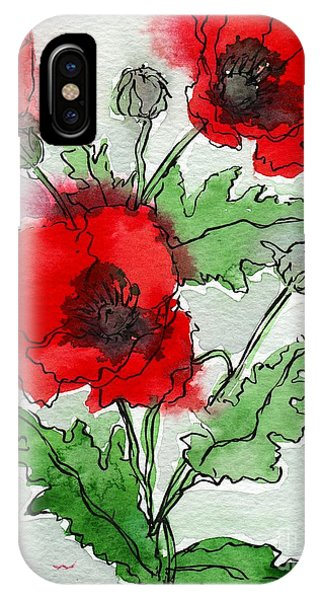Poppies Popped IPhone Case
