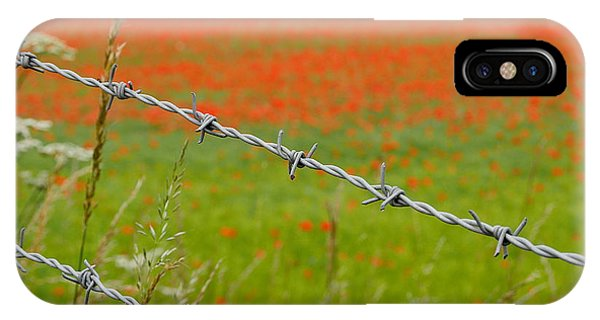 IPhone Case featuring the photograph Poppies by Richard Reeve