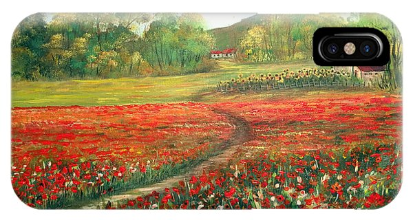 Poppies Time IPhone Case