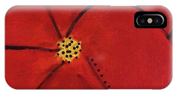 Poppy Dots IPhone Case