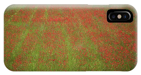 Poppy Field In Europe IPhone Case