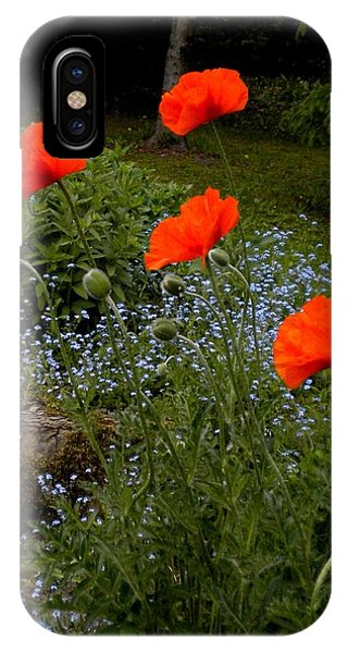 Poppy Foursome IPhone Case
