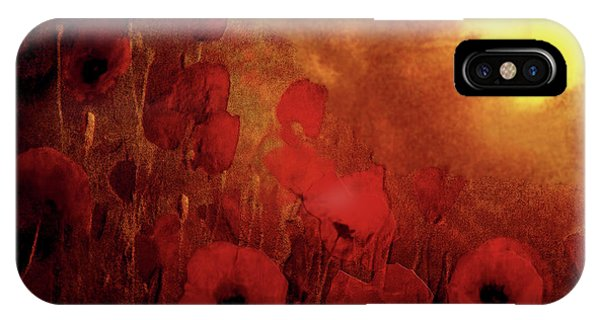 Poppy Heaven IPhone Case