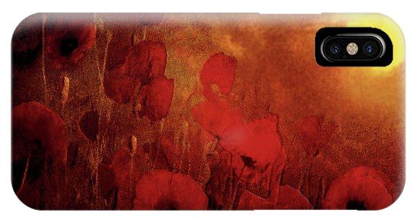 Poppy Heaven IPhone Case