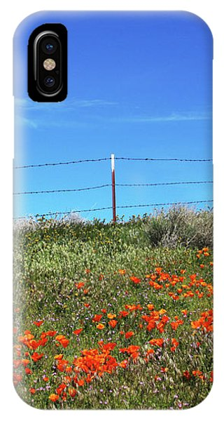 Sky iPhone Case - Poppy Hill- Art By Linda Woods by Linda Woods