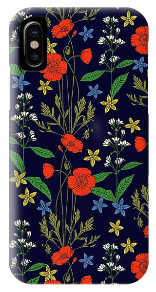 Poppy Meadow IPhone Case