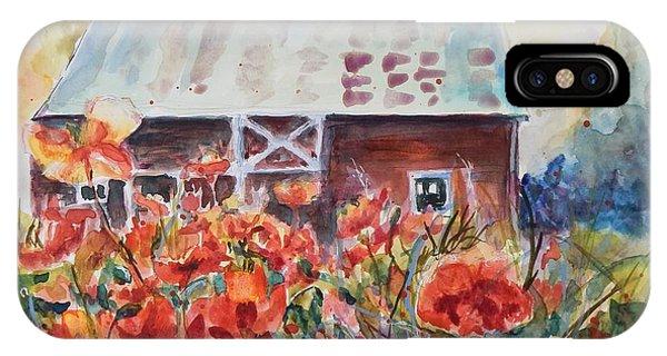 Poppy Morning IPhone Case