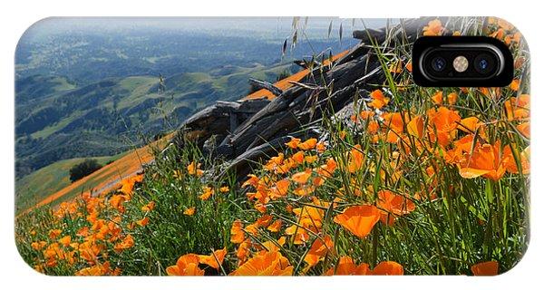 Poppy Mountain  IPhone Case