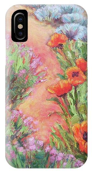 Poppy Pathway IPhone Case