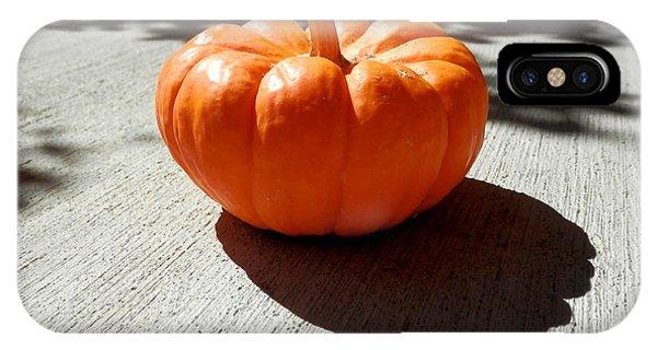Poppy Pumpkin IPhone Case