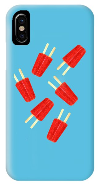 Summer iPhone Case - Popsicle T-shirt by Edward Fielding