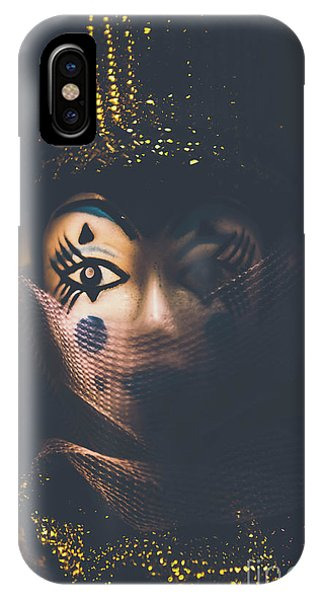 Event iPhone Case - Porcelain Doll. Performing Arts Event by Jorgo Photography - Wall Art Gallery
