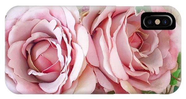 Porch Roses IPhone Case