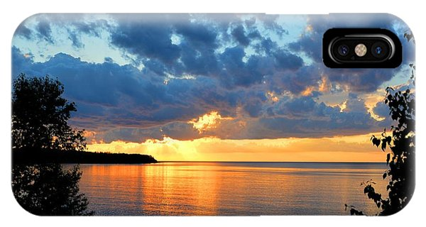 Porcupine Mountains Sunset IPhone Case