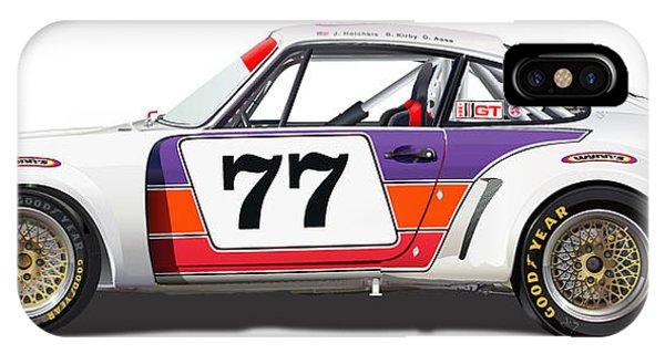 Porsche 1977 Rsr Illustration IPhone Case
