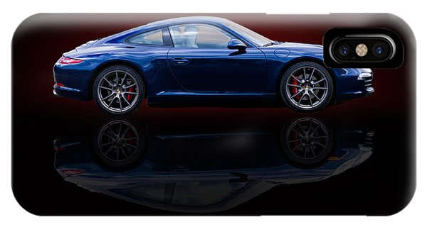 Porsche 911 Carrera - Blue IPhone Case
